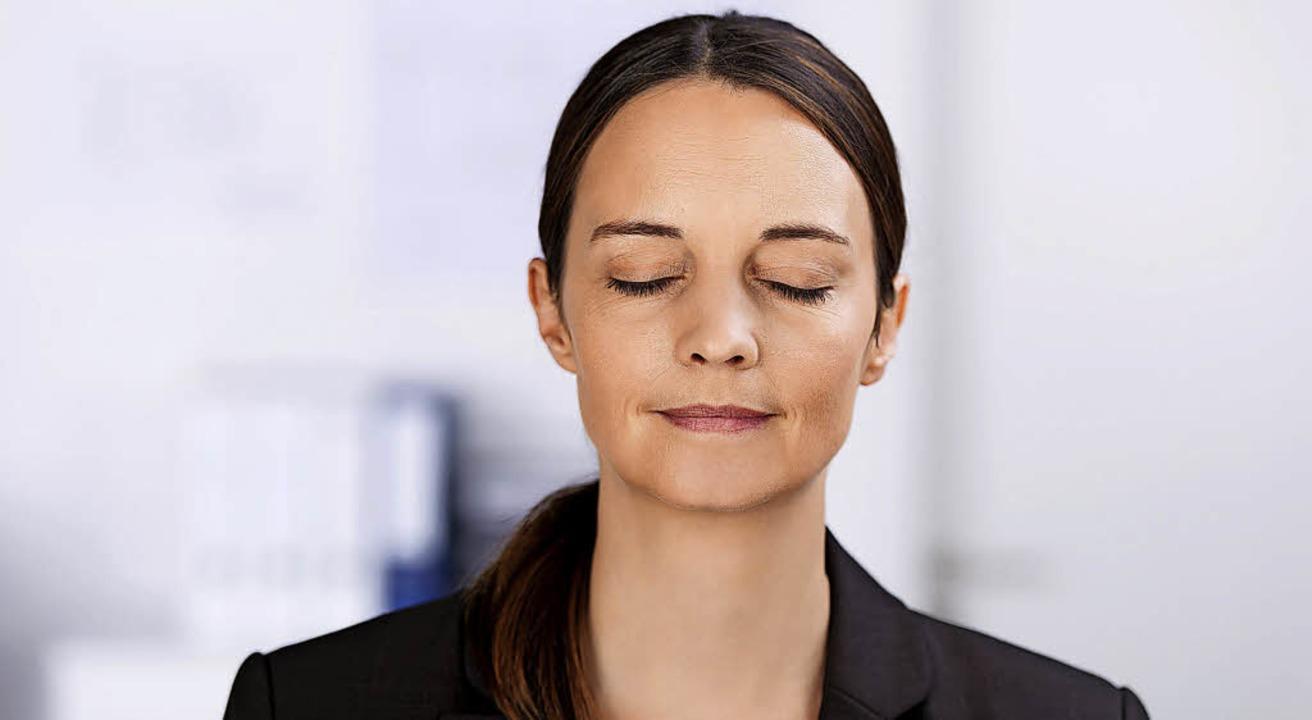 Gelassenheit im Job führt entgegen man...Mythen nicht zu weniger Produktivität.  | Foto: contrastwerkstatt/ fotolia