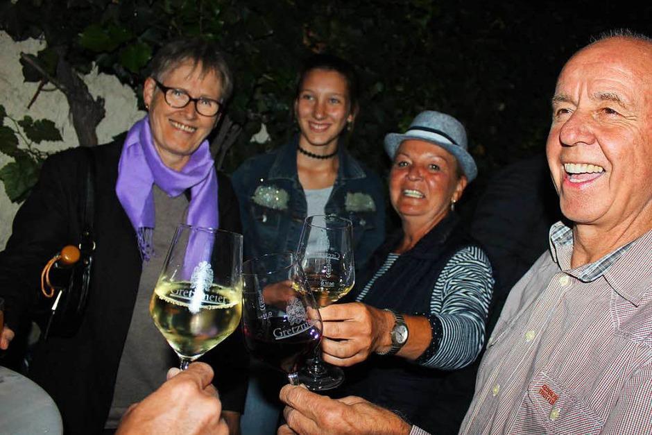 Szenen vom Merdinger Gassenweinfest (Foto: Mario Schöneberg)