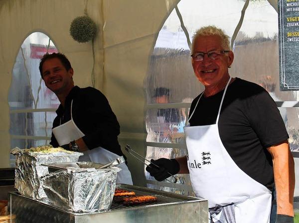Sonniges Wetter und ein breites kulinarisches Angebot lockten am Sonntag zahlreiche Besucher in den Kurpark.
