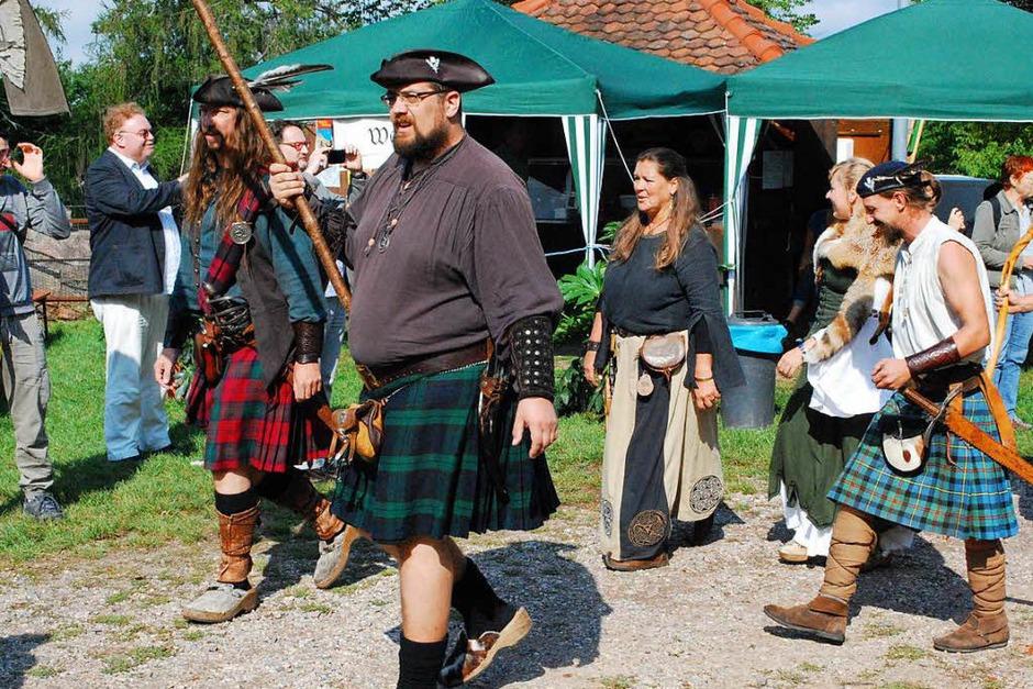 Sogar zwei Schottengruppen sind dabei (Foto: Sylvia-Karina Jahn)