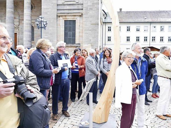 Eindrücke vom Abschlusswochenende des Bildhauersymposiums.