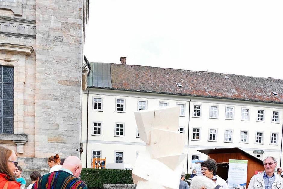Eindrücke vom Abschlusswochenende des Bildhauersymposiums. (Foto: Claudia Renk)