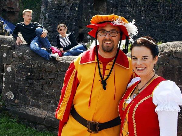 Burgfest auf der Hohengeroldseck