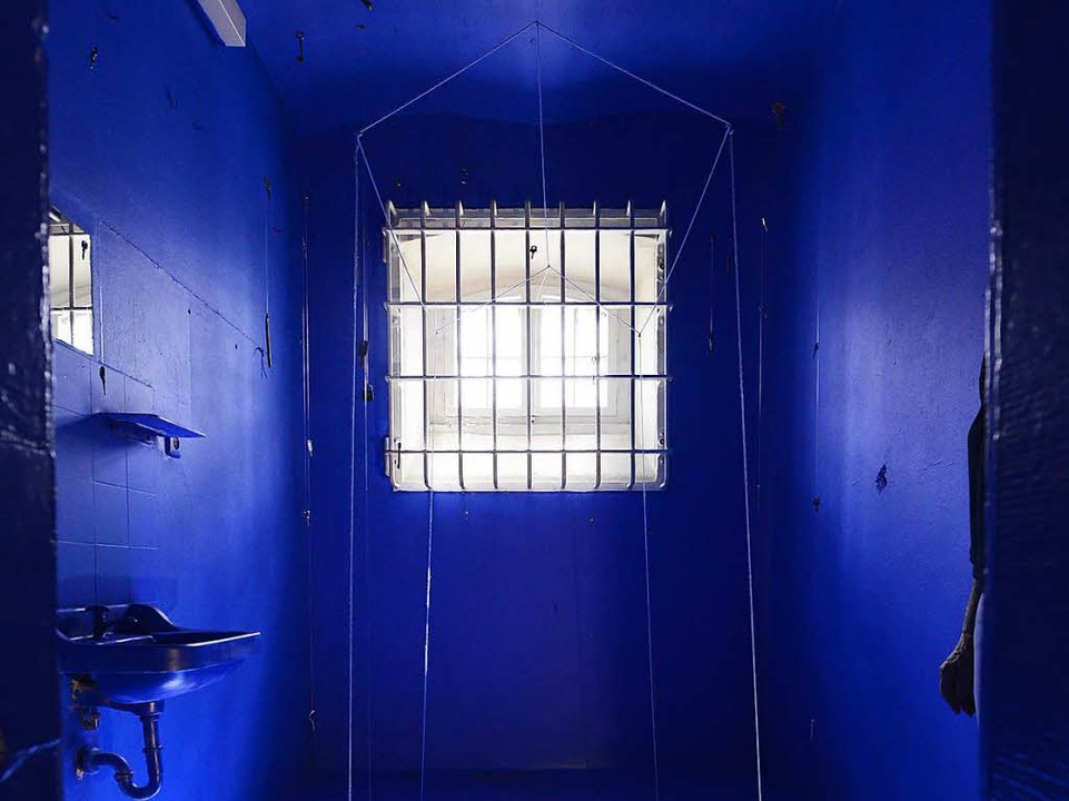 Eine der künstlerisch gestalteten Zellen.  | Foto: Ingo Schneider