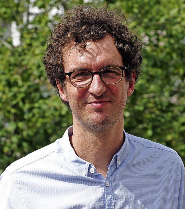 Der neue Pfarrer Rüdiger Fett will nun...en und die Menschen dort kennenlernen.  | Foto: Günter Hammer