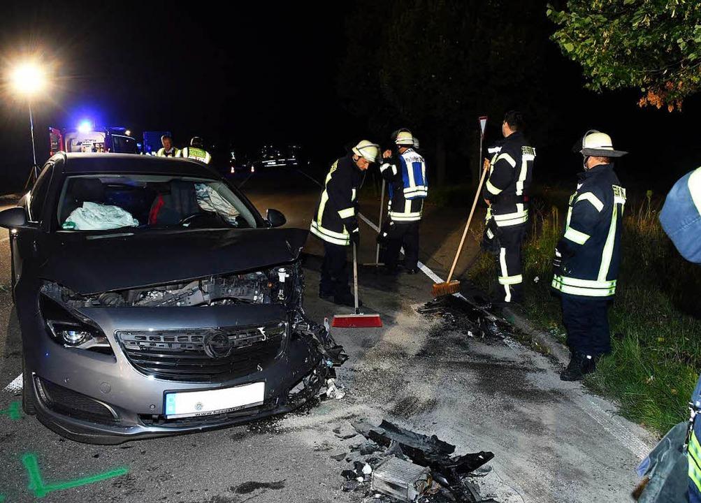 Der Unfallort bei Kürzell    Foto: Wolfgang Künstle