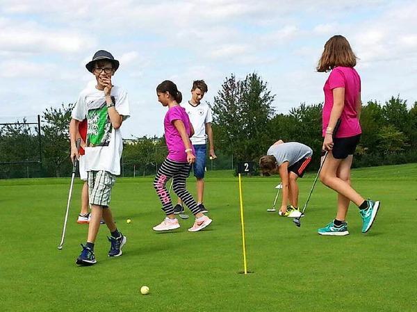 Golfen macht Spaß.