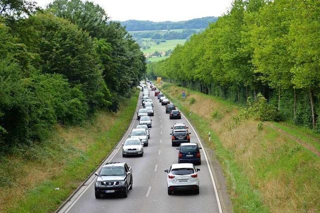 Wie schnell soll die B 317 von Lörrach ins Wiesental ausgebaut werden?