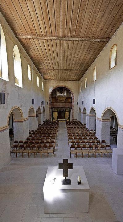 Sehenswert: die römische Badruine in B...und die  Kirche St. Cyriak in Sulzburg  | Foto: Veranstalter