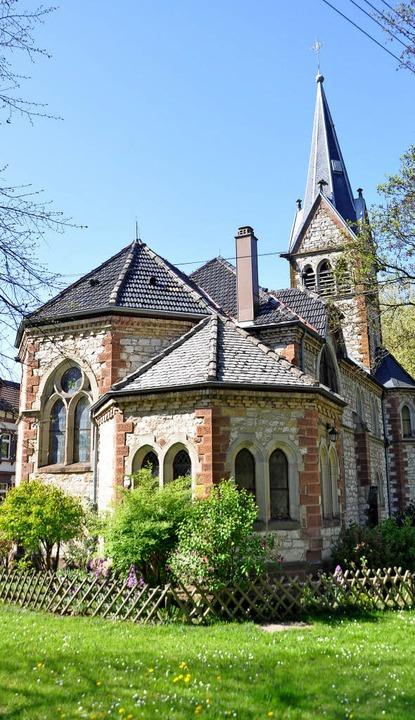 Kann besichtigt werden: die Martin-Luther-Kirche in  Staufen  | Foto: Rainer Ruther