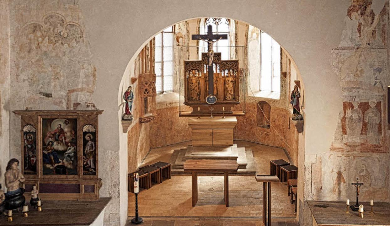 Führungen gibt es auch durch die St.-Vitus-Kapelle in Wasenweiler.  | Foto: Helmut Rothermel