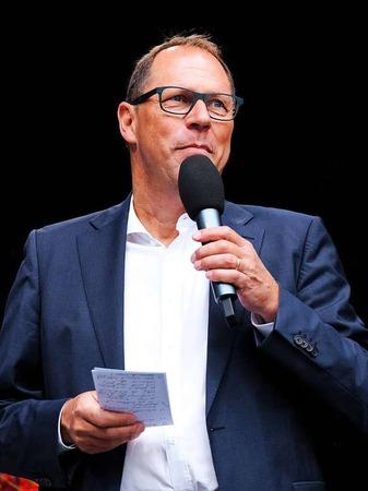 BZ-Chefredakteur Thomas Fricker