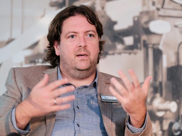 Christoph Ziedler, Leiter des Berliner Büros