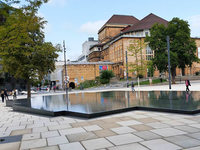 Kirchen begrüßen Diskussion über den Umgang mit dem Gedenkbrunnen am Platz der Alten Synagoge