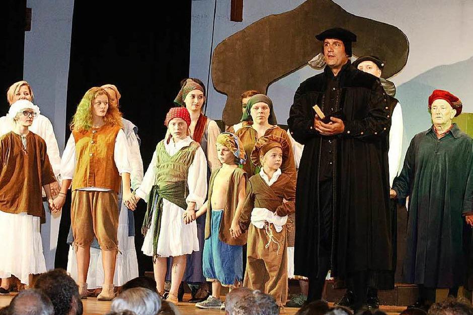 Martin Luther, gespielt von Christian Peter Hauser (Foto: Heidi Foessel)