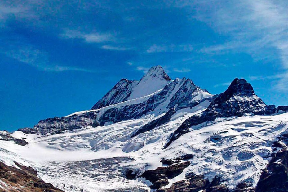 Neuschnee im Berner Oberland im September. (Foto: Andrea Kalt )