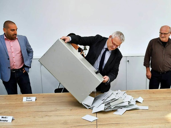 Die Bürgermeisterwahl in Meißenheim
