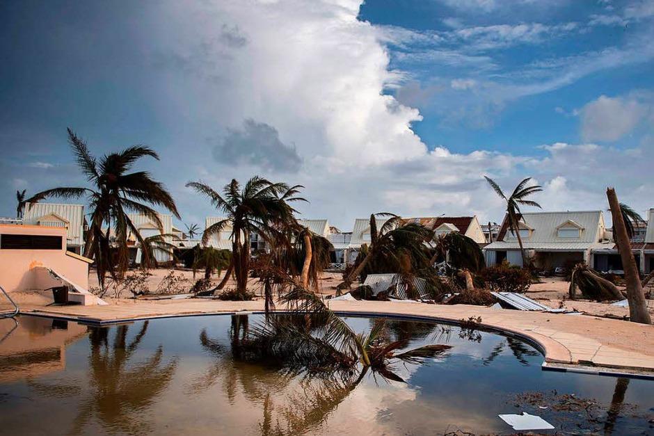 """Hurrikan """"Irma"""" stürmt mit voller Wucht durch Florida (Foto: AFP)"""