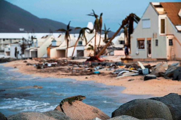 """Hurrikan """"Irma"""" stürmt mit voller Wucht durch Florida"""