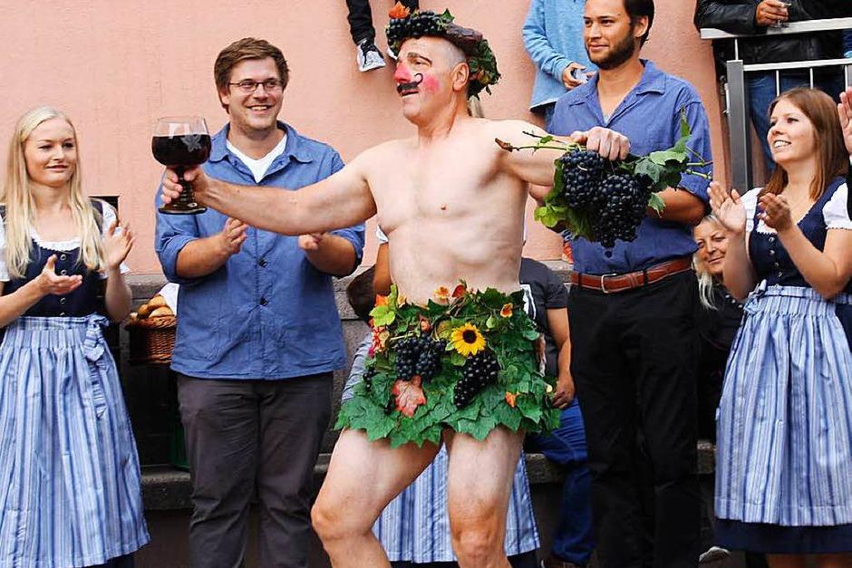 260 Jahre jung: Auftritt des Hoselips (alias Günter Grafmüller) (Foto: Christiane Franz)