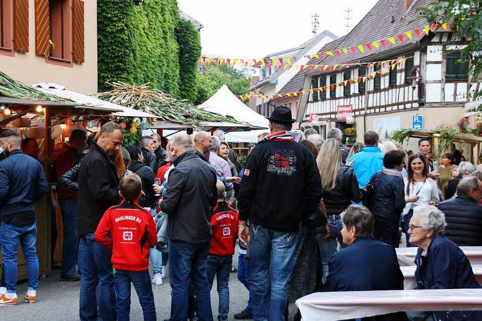 Allerhand los war über die drei Festtage in der Bahlinger Ortsmitte. (Foto: Christiane Franz)