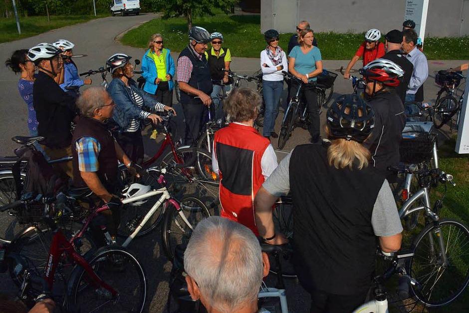 Impressionen von der BZ-Radtour (Foto: Hannes Lauber)