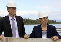 Frau Minister auf Polder-Visite