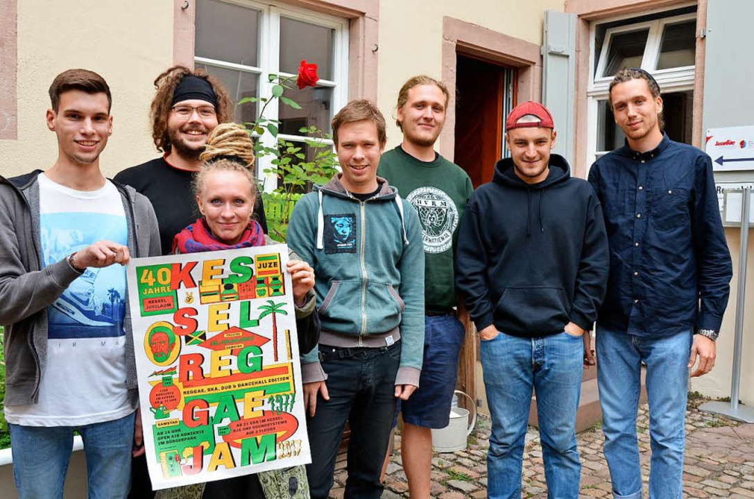 Die Organisatoren (von links): Raphael...ttenbach, Marius Lutz und Max Schleyer  | Foto: Moritz Lehmann