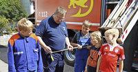 Die Idee eines Feuerwehrtags zündete