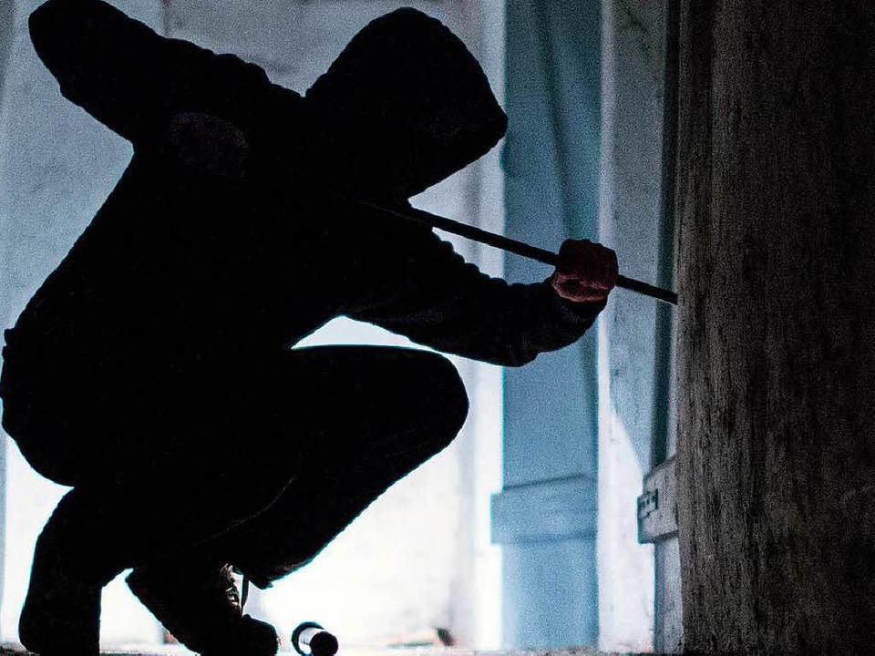 Recht erfolglos hat ein Einbrecher in ...lizei bittet um Mithilfe (Symbolbild).    Foto: dpa