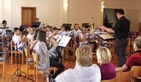 Junge Musiker beweisen ihr Können