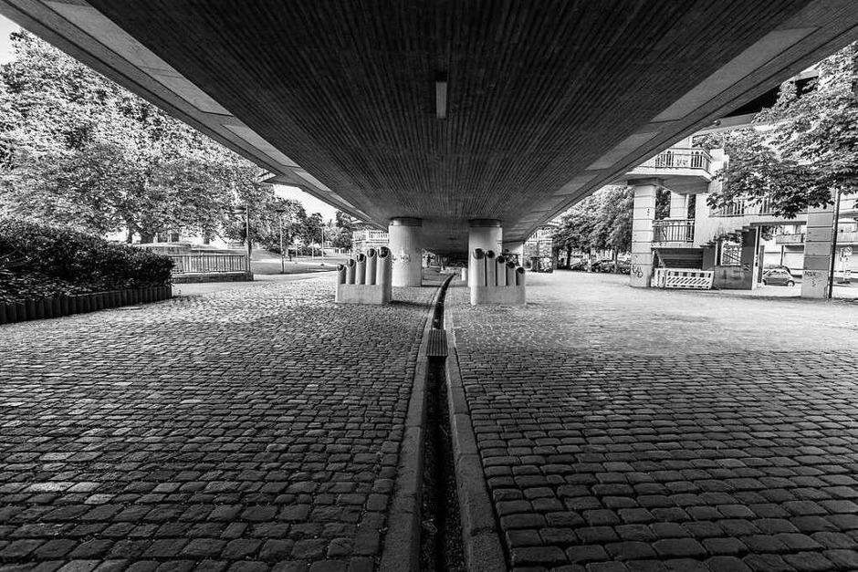Stühlinger Kirchplatz in Freiburg (Foto: Carlotta Huber)