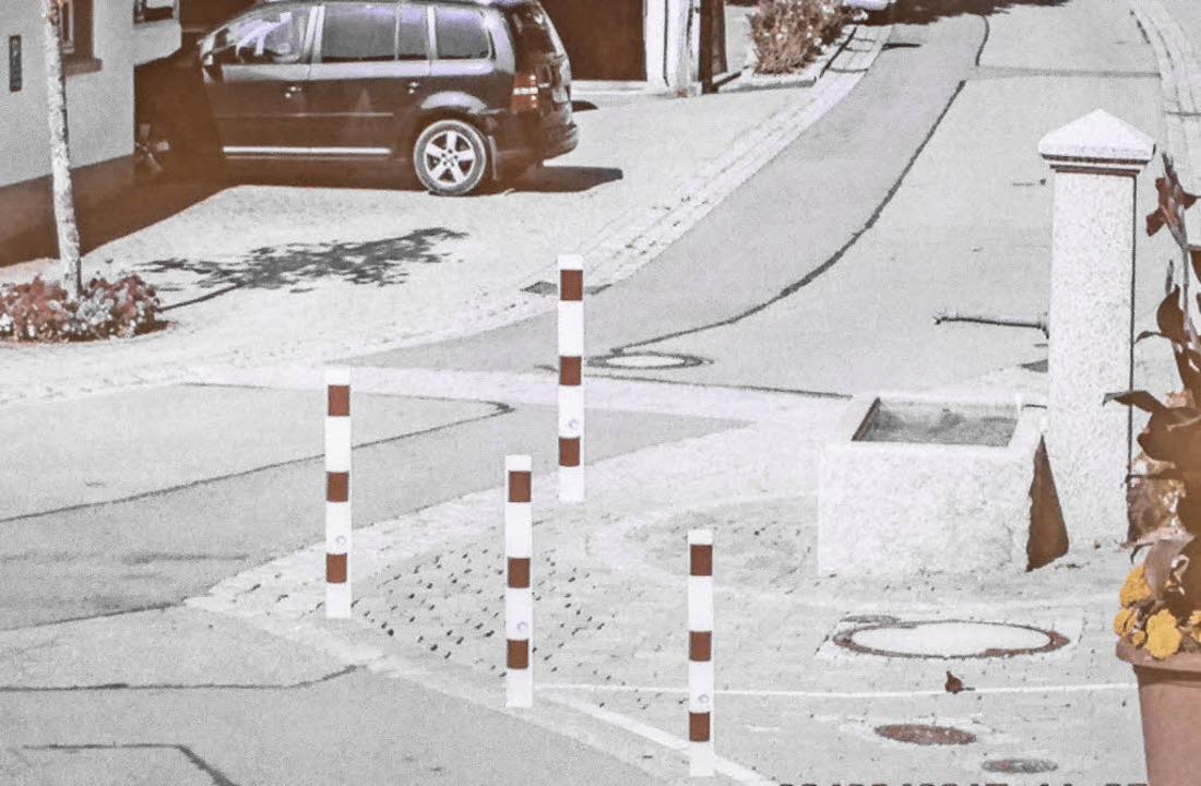 Auf dieser Fotomontage ist die im Rat ...piegelstraße in Bonndorf dargestellt.   | Foto: Foto/Quelle: Stefan Limberger-Andris/Stadtverwaltung