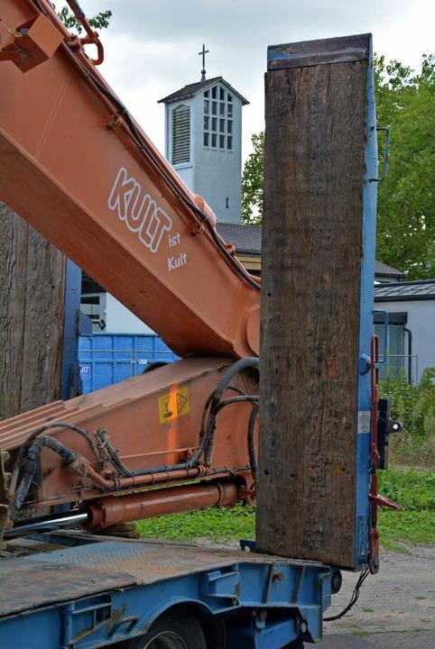 Rund um das Johannes-Quartier tut sich...e haben die Abbrucharbeiten begonnen.   | Foto: Lauber