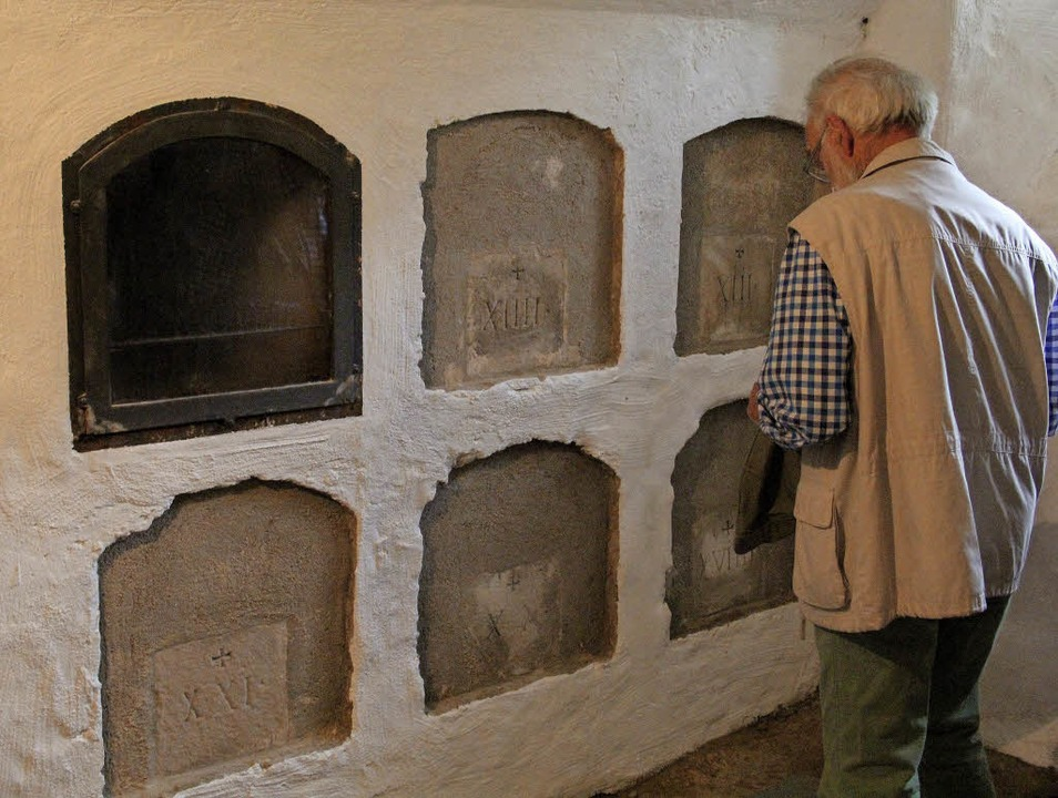 Die Gruft der Kapuziner unter  St. Mat...rmalerweise ebenfalls nicht geöffnet.   | Foto: Judith Reinbold