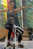 Alisa Lais nähert sich Top-Niveau