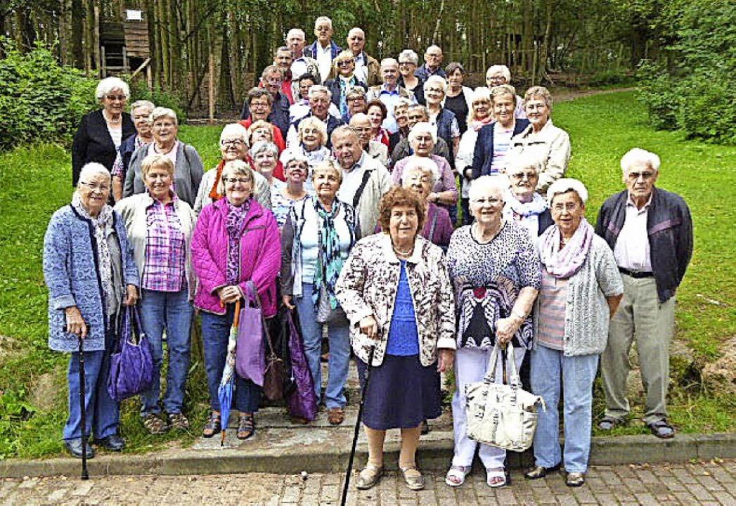 Der diesjährige Jahresausflug des Ökum...Teilnehmer in den  Kurort Bad Belzig.     Foto: ZVG