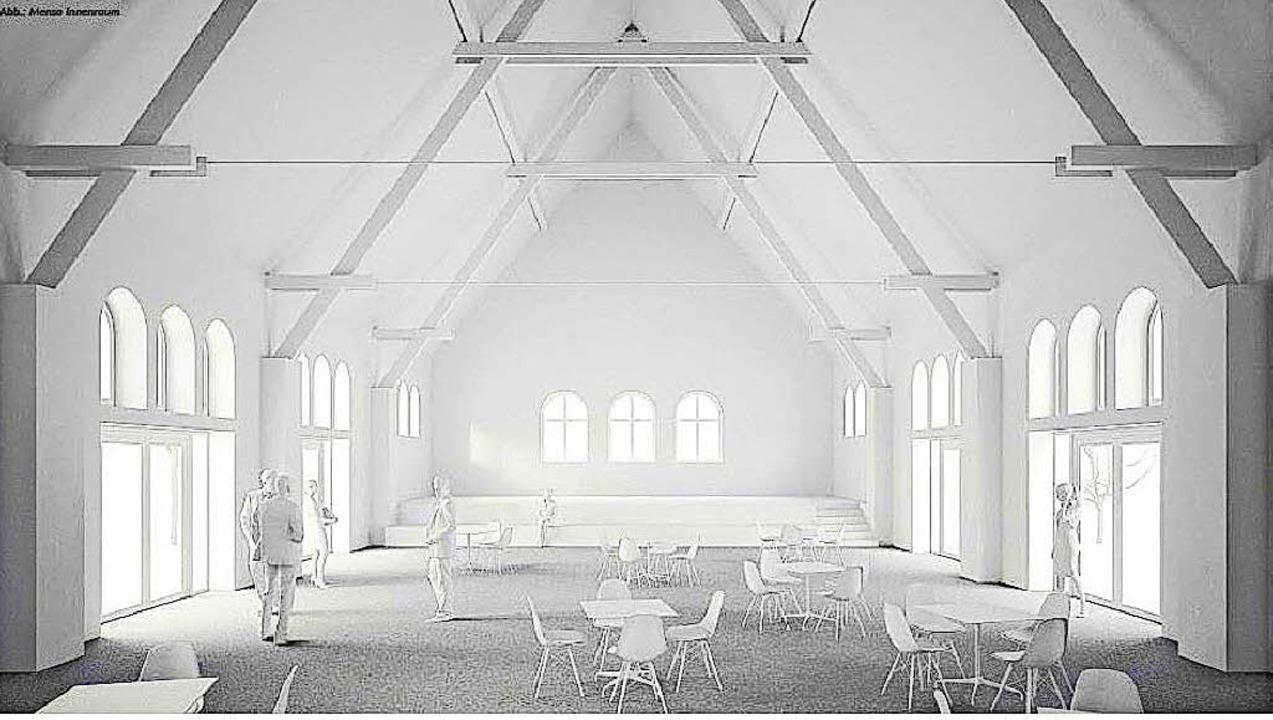 So könnte das Gemeinschaftshaus im Inn...t ihren einzeln öffenbaren Elementen.   | Foto: Architekturobüro1 ZT