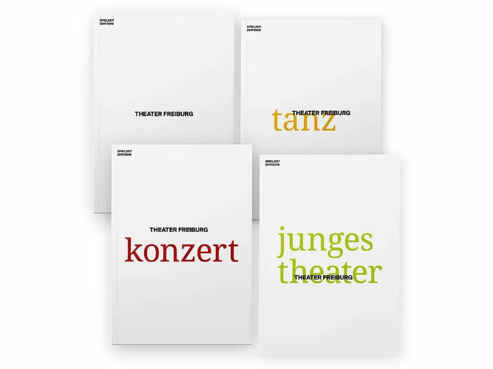 Vier Hefte – ein Konzept: So ste...Publikationen zur neuen Spielzeit vor.  | Foto: theater