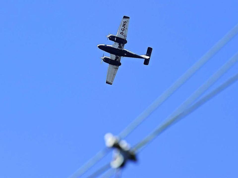 Im Kanton Glarus ist ein Kleinflugzeug...ueschingen gestartet war. (Symbolbild)  | Foto: Ingo Schneider