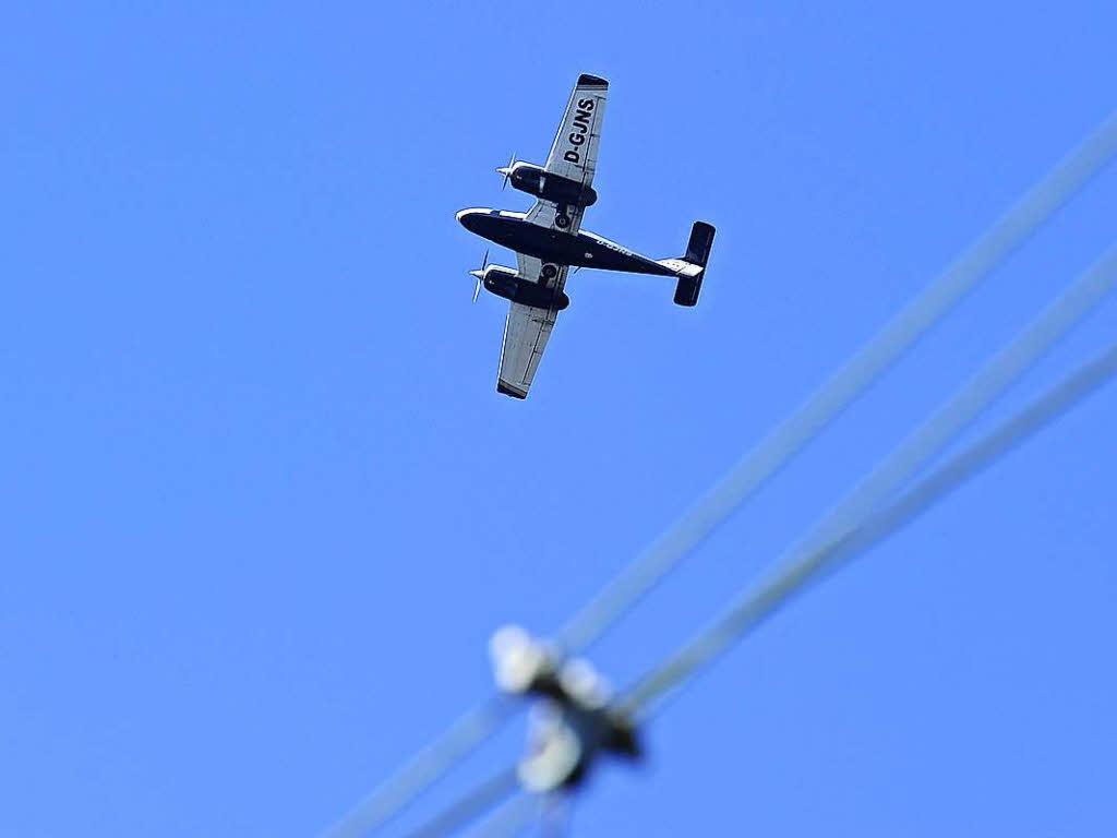 Zwei Tote bei Absturz eines Kleinflugzeugs