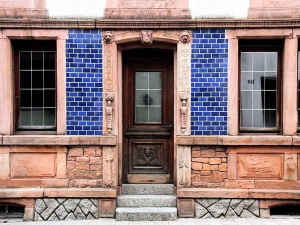 Denkmalgeschützte Hausfassade (Kappelrodeck)