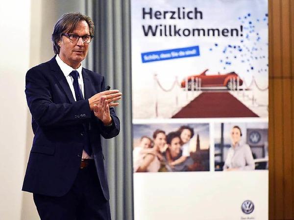 Vortrag von Jens Weidner beim BZ-Wissensforum