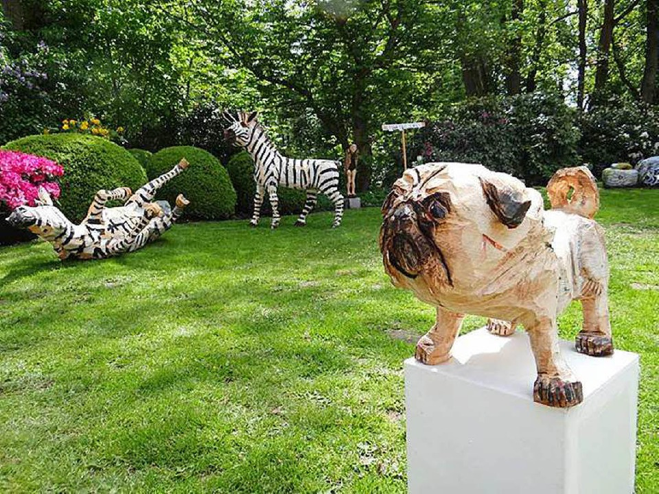 Skulpturen von Peer Oliver Nau  | Foto: privat