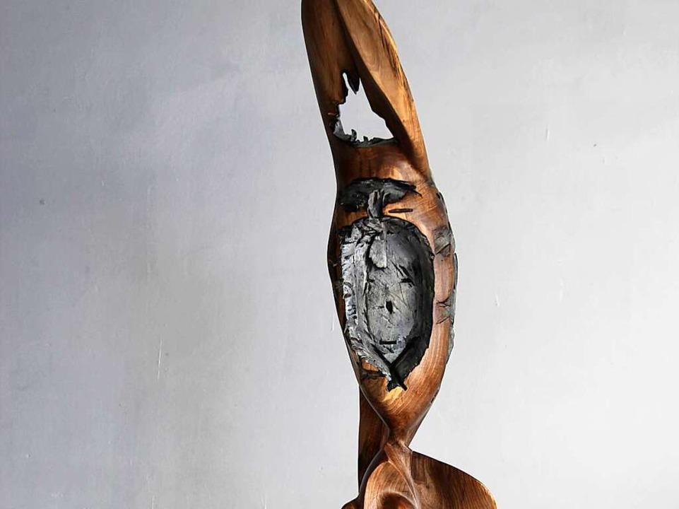 Eine Skulptur von Michael Lubasch  | Foto: privat
