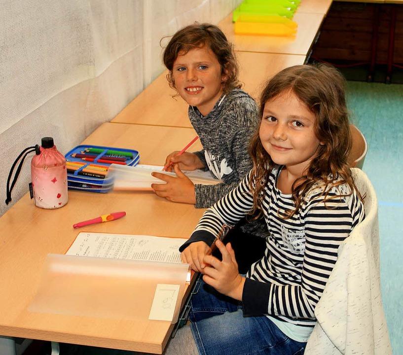 Fast schon ein Abenteuer für die Kinde...richt in improvisierten Klassenzimmern    Foto: Fabry