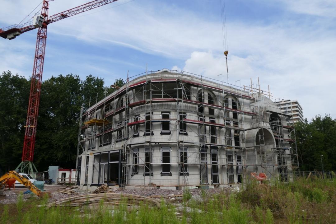 Was sagen die Kandidaten zum Bau weite...reis Lörrach – wie hier in Lahr?  | Foto: Mark Alexander
