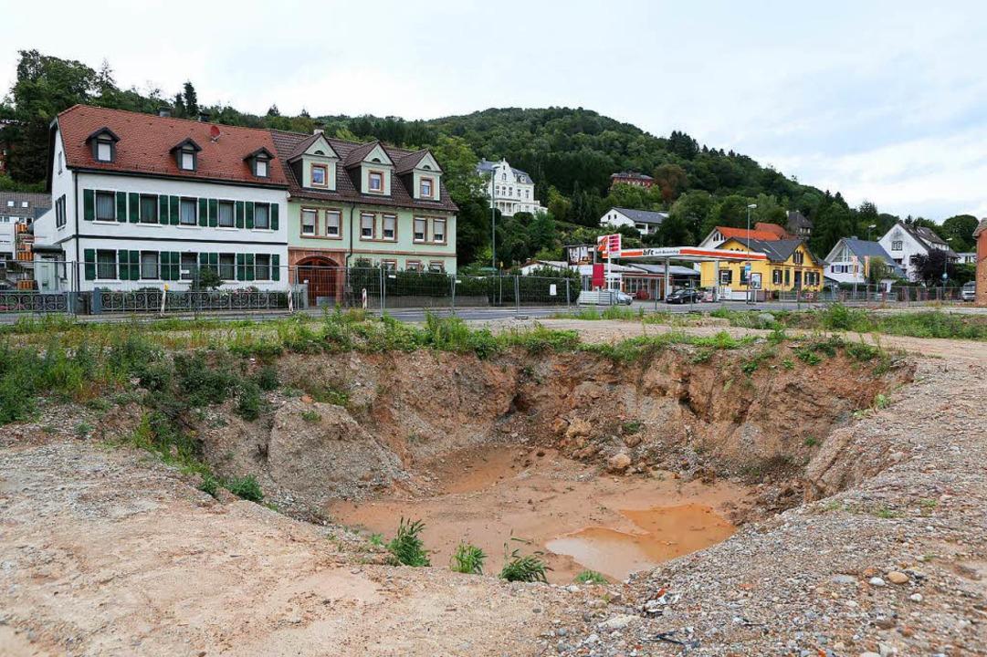 So sieht es derzeit auf dem Gelände der früheren Ölfabrik aus.  | Foto: Christoph Breithaupt