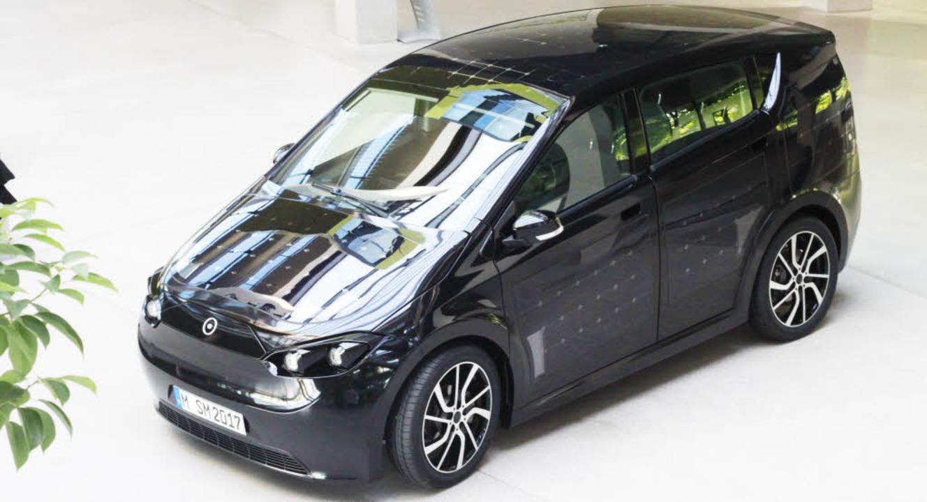 Dieses Auto fängt direkt die Energie d... Sion soll 2019 auf den Markt kommen.   | Foto: PR