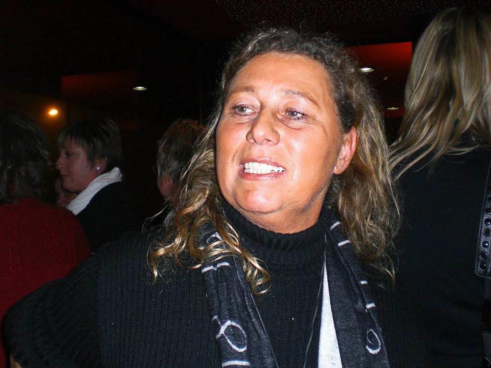 Geschäftsfrau Mara Heckmann findet es ...Prozessbeginn habe sie nichts gewusst.  | Foto: cwe
